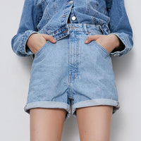 Casual Loose Denim Shorts
