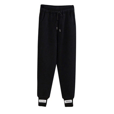Loose Lace Up Joggers Sport Pants