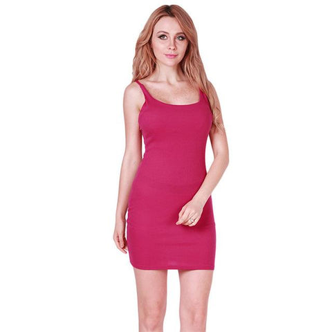 Basic Dresses Sleeveless
