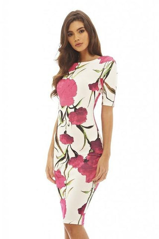 Women Dress Elegant Floral