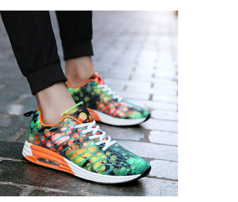 Lovers Sport Running Shoes Outdoor Breathable Comfortable Couple Shoes Lightweight Athletic Sneaker