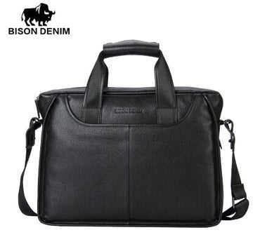 Genuine Leather Guarantee Briefcase handbag