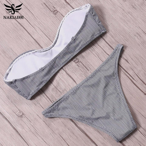 Sexy Mini Micro Bikinis Women Swimsuit Push Up Swimwear