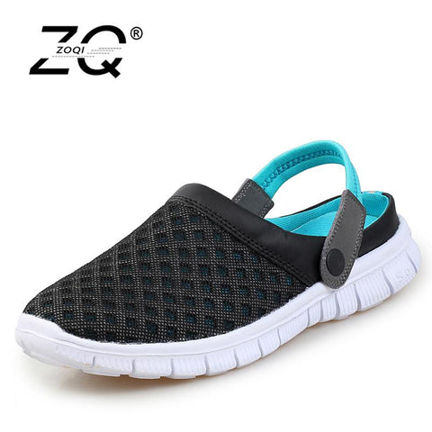 New Breathable Men Slippers Shoes