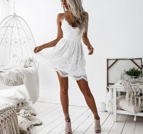 Sibybo Backless Spaghetti