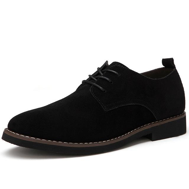 Oxfords Faux Suede Leather Shoes
