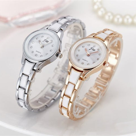 New Brand Women Watches Alloy Crystal Wristwatches