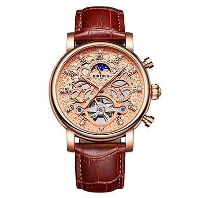 Skeleton Automatic Watch  Phase Waterproof Mechanical Watches
