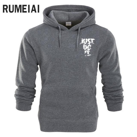 Men Long Sleeve Hoodie Lightning