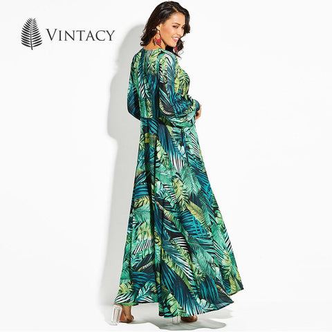 Vintacy Long Sleeve Dress