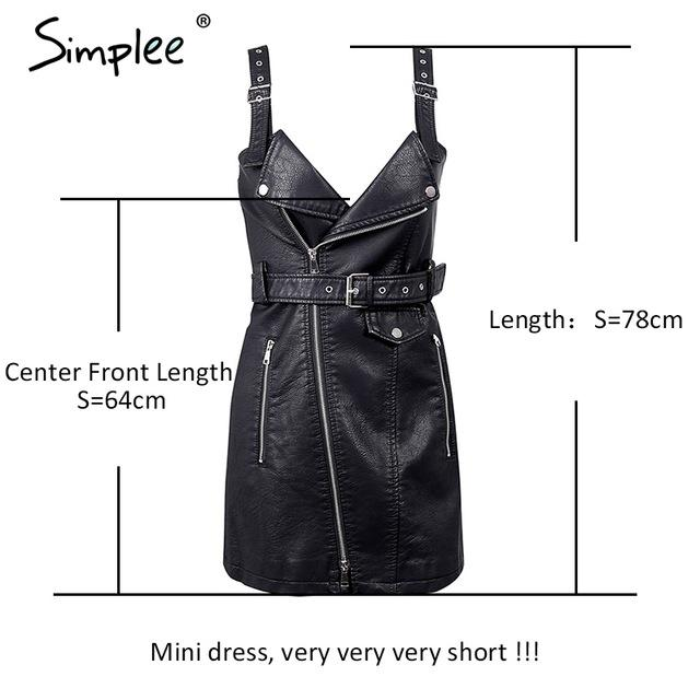 Simplee Fashion PU leather