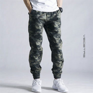 Pencil Harem Camouflage Military Pants