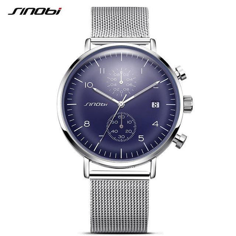 Business Watches Ultra Slim Style Wristwatch