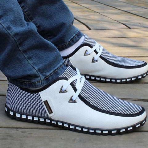 Fashion Driving Shoes Men Flats Slip On
