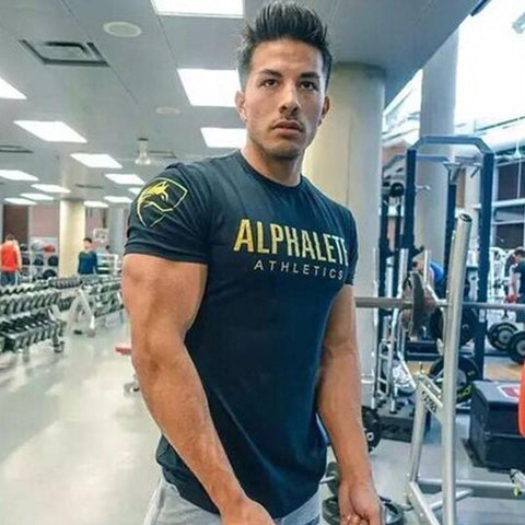 2018 New Fashion Gym T-Shirt