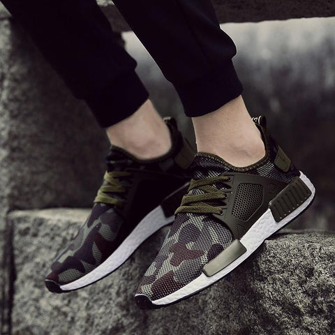 Outdoor Military Camouflage Men Casual Shoes