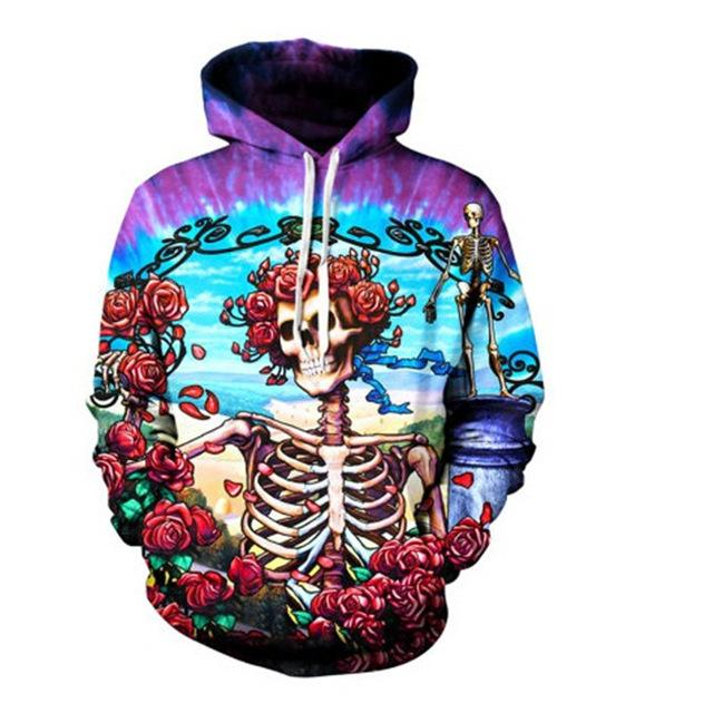 Skull Hoodies New Fashion
