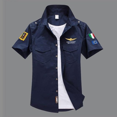 Brand-Clothing Air Force One Army Tactical Shirt