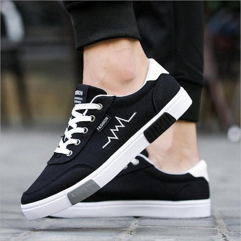 New 2018 Canvas Shoes Men Sneakers