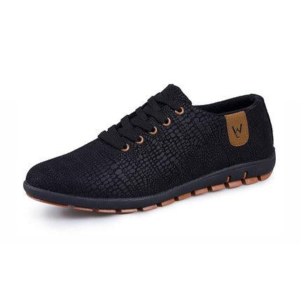 Casual Fashion Low Lace-up Canvas Shoes - GaGodeal
