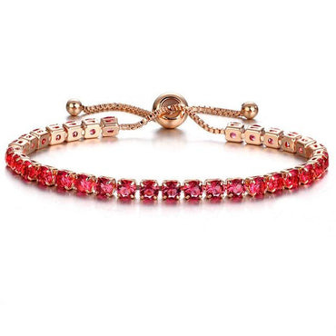 17KM Fashion Cubic Zirconia Bracelet & Bangle