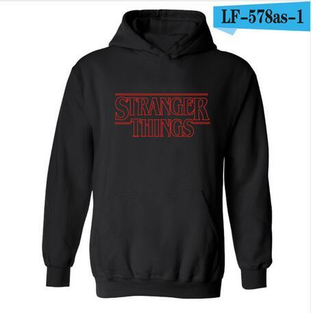 Faces Stranger Things Hooded