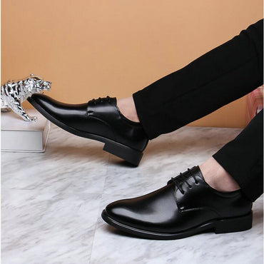 Patent Leather Black Wedding Oxford Shoes