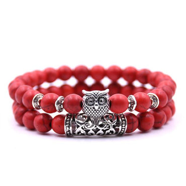 2 pieces /set classic 18 colors Natural stone bracelets