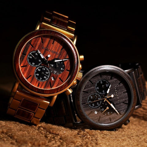 Fashion Wooden Wristwatches