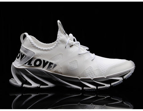 new outdoor  free running jogging walking sports shoes high-quality lace-up sneakers