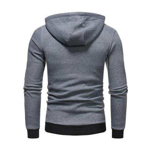 Fashion Hip Hop Button Decoration Pullover Hoodies