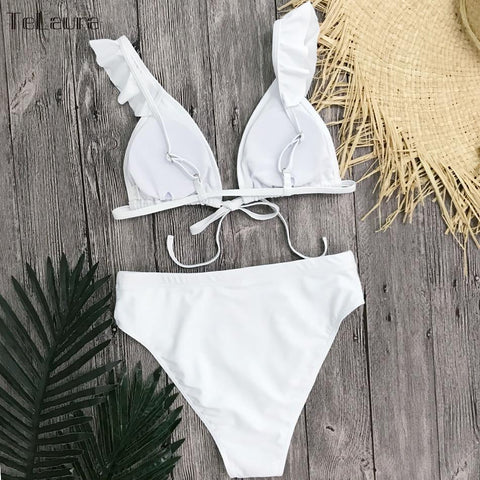 New Sexy High Waist Bikini Swimwear Women Swimsuit Push Up Bikini