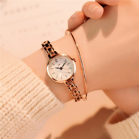 Luxury Crystal Rose Gold Watches