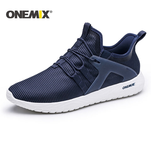 New lightweight running shoes men breathable mesh sneakers