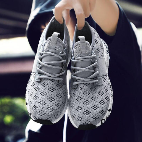 New Breathable Men Casual fashion shoes Woven fashion shoes Men hot sneakers