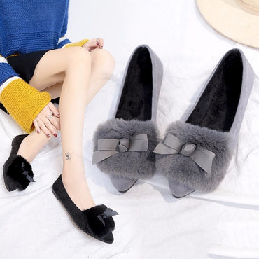 Slip on Pointed Toe Comfortable Flat Shoes