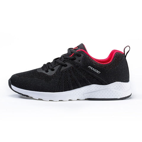 Large Size Sport Shoes Men Breathable Mesh Running Shoes