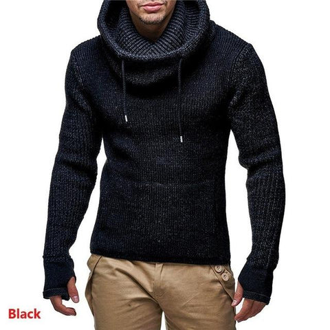 New  turtleneck  High Street Solid Color Hoodies