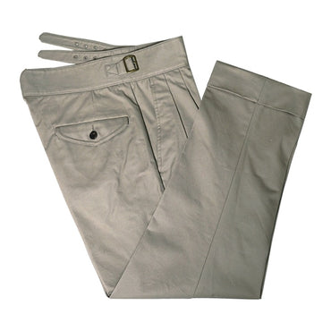 Military Chino Staight Taper Ankle Length Casual Pants