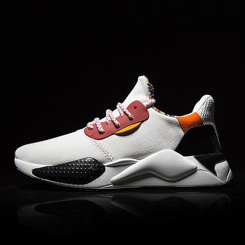 Casual Shoes Men Breathable Autumn PU leather Shoes Sneakers Fashionable Breathable Lightweight movement shoes