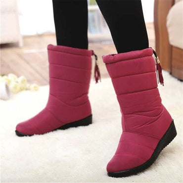 Mid-Calf Down Boots