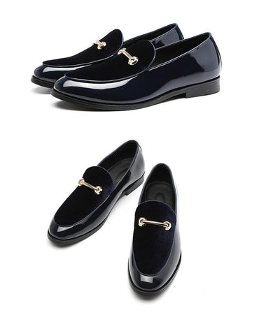 Newest Formal Shoes Pointed Toe Dress Fashion Men Loafers Leather Oxford Shoes