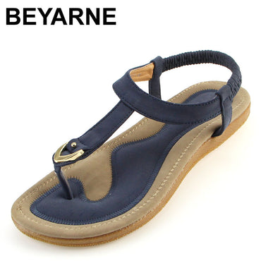 l flat heel sandalias femininas summer casual single soft bottom slippers sandals