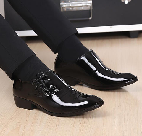 Bright  Patent Leather Oxford Shoes