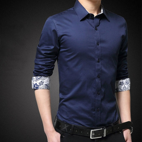 Fashion Patchwork Floral Shirt