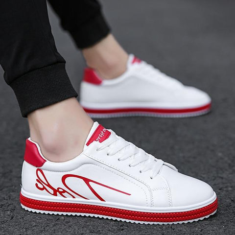 Luxury Brand hot sneakers Leather Casual Fashion fashion shoes Lace Up Comfortable