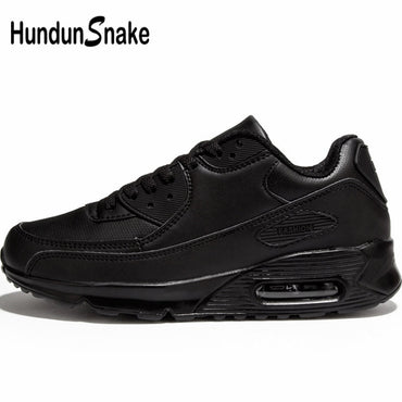 Air Cushion Men Autumn Leather Sport Shoes