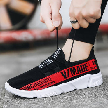 Adult Red Black Yellow High Quality Comfortable fashion shoes