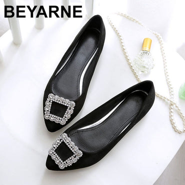 pointed leisure comfortable driving flat shoes