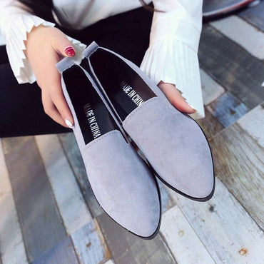 Loafers Flats  Casual Shoes Suede Slip on Boat flats shoes